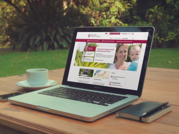 Marienkrankenhaus Hamburg mit neuer Webseite
